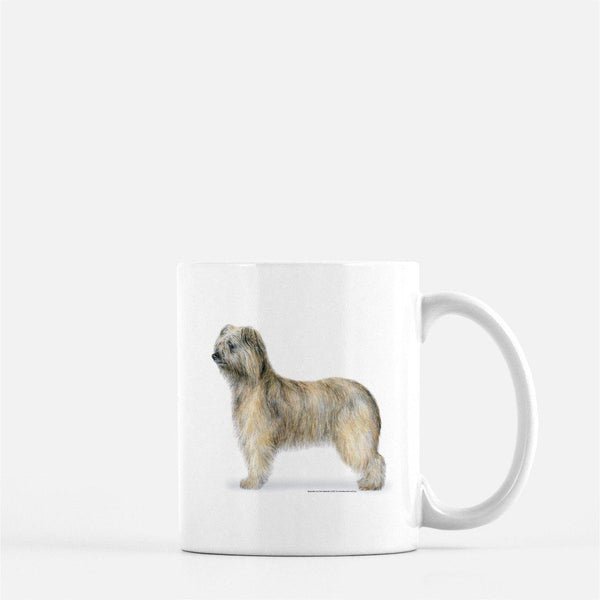 Pyrenean Shepherd Rough Face Coffee Mug
