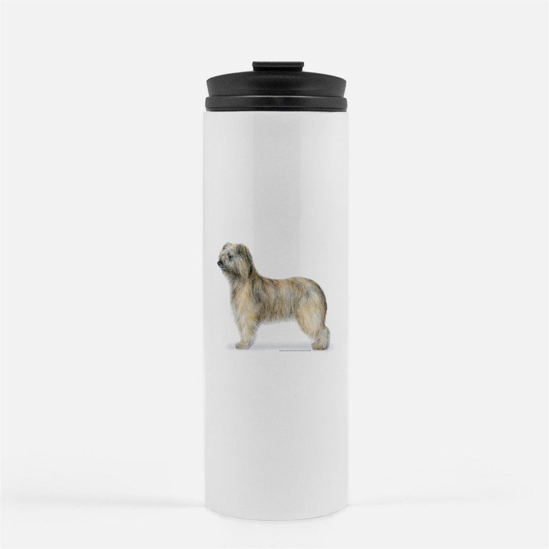 Rough Face Pyrenean Shepherd Thermal Tumbler