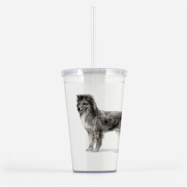Pyrenean Shepherd Smooth Face Beverage Tumbler