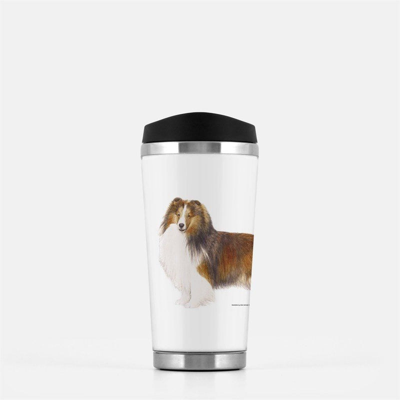 Shetland Sheepdog Travel Mug