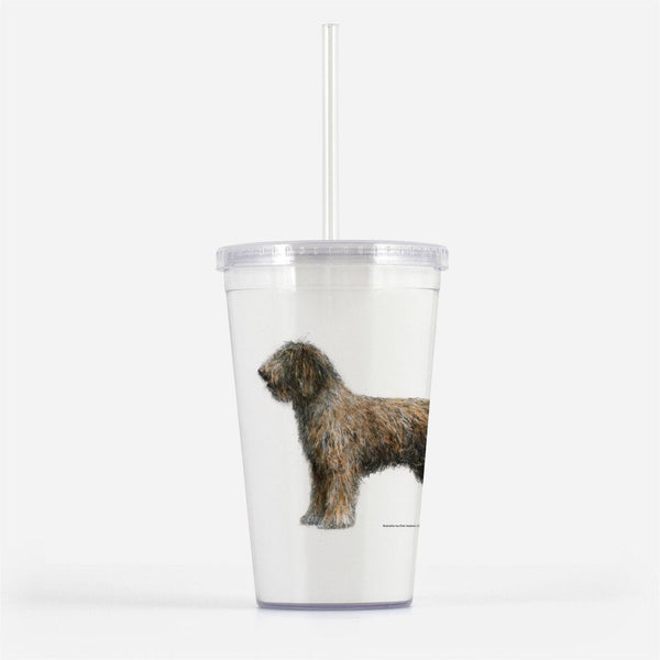 Spanish Water Dog Beverage Tumbler