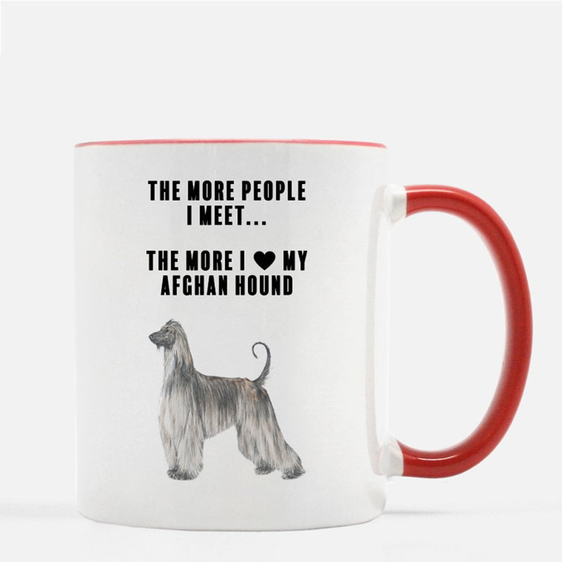 Afghan Hound Love Coffee Mug