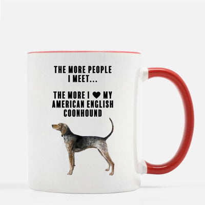 American English Coonhound Love Coffee Mug