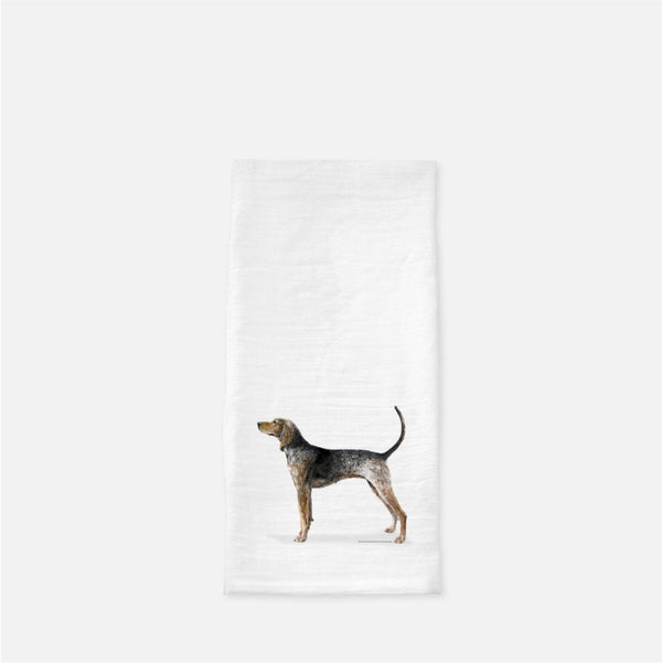 American English Coonhound Tea Towel