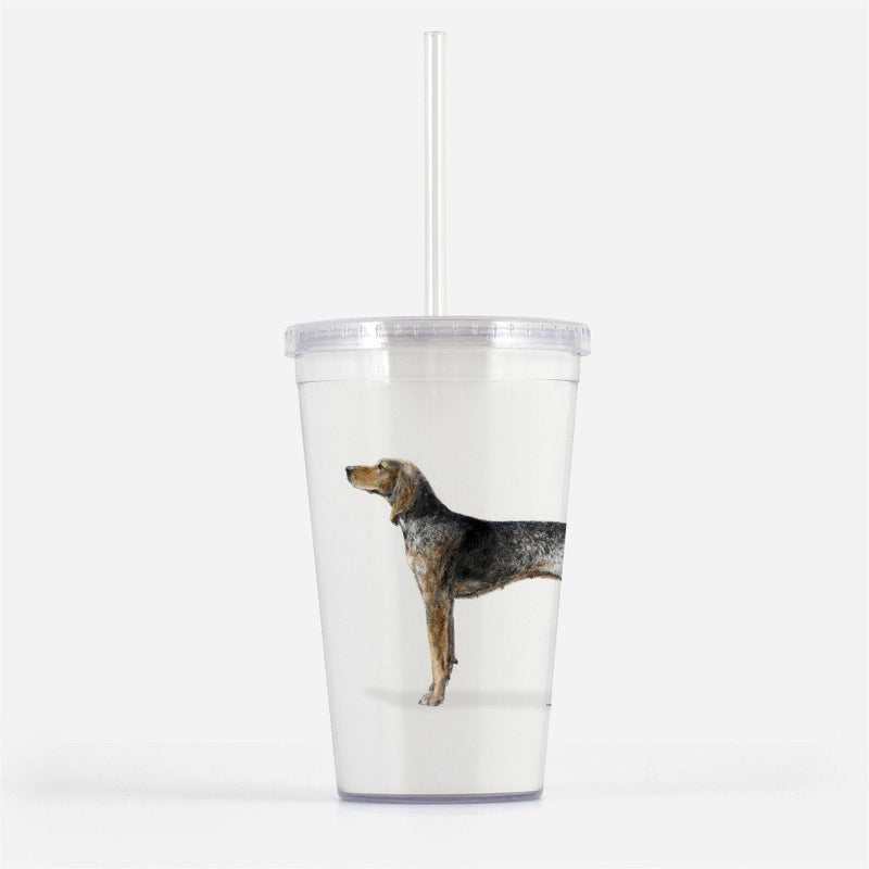 American English Coonhound Beverage Tumbler