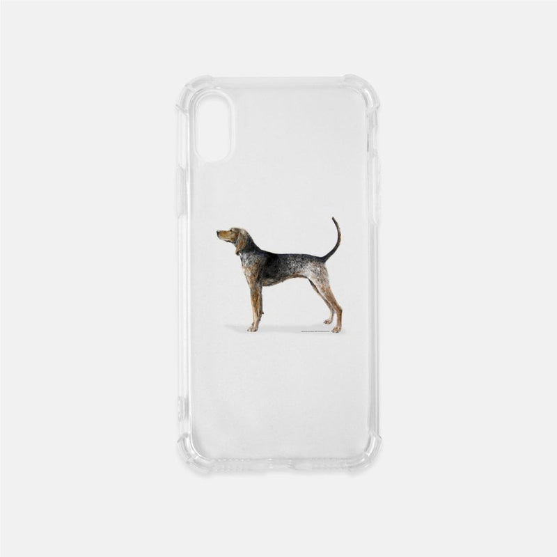 American English Coonhound Clear Phone Case