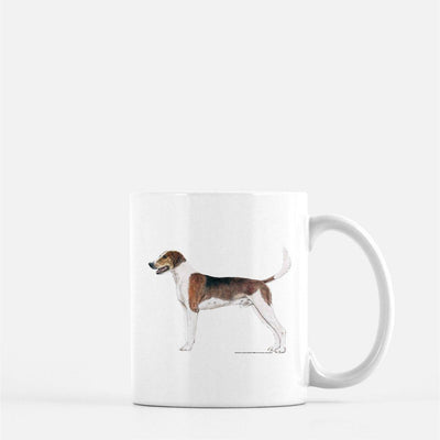 American Foxhound Coffee Mug