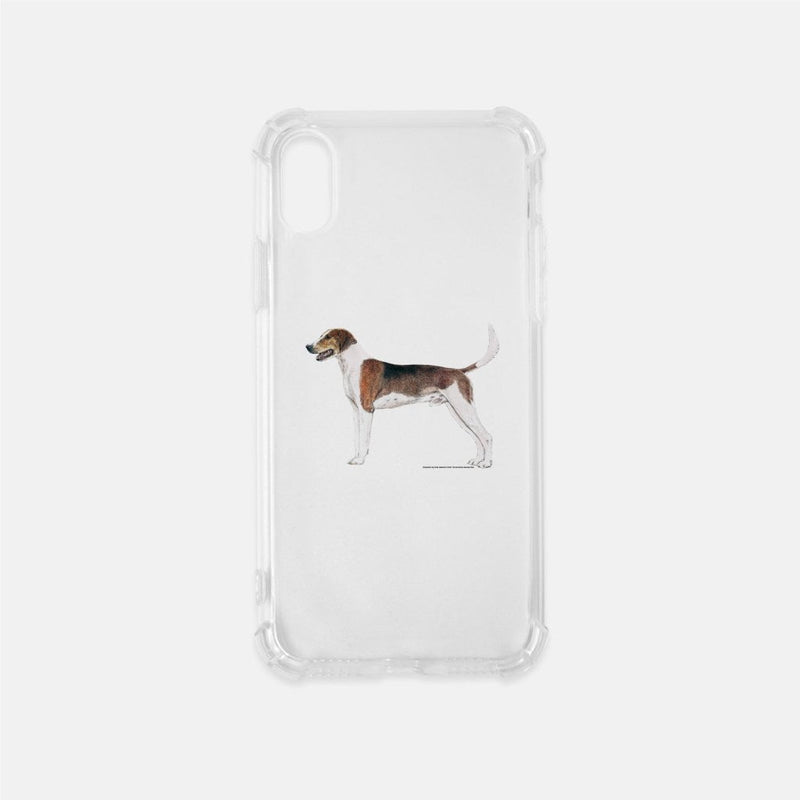 American Foxhound Clear Phone Case