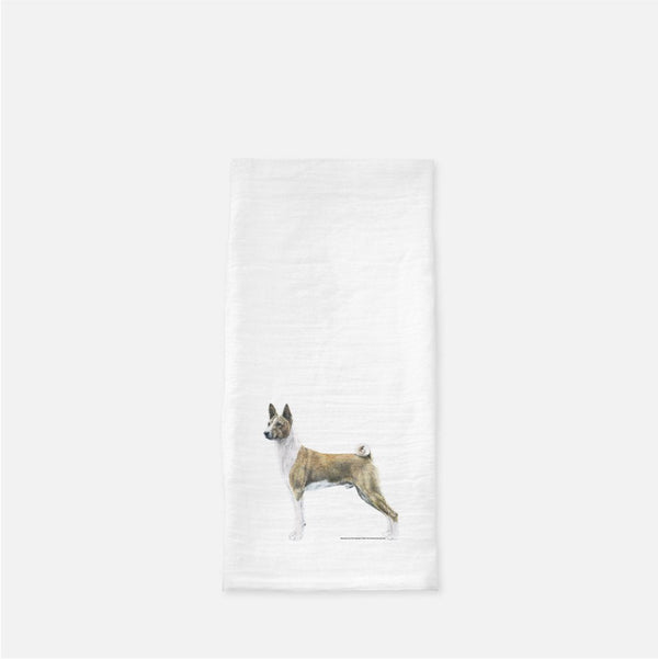 Basenji Tea Towel