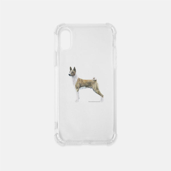 Basenji Clear Phone Case