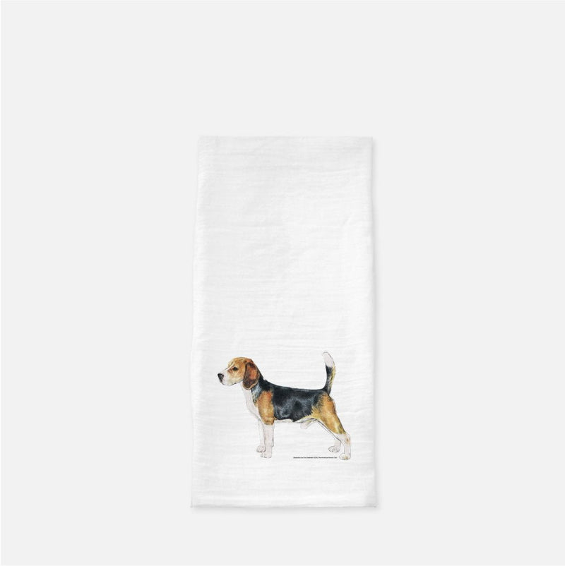 Beagle Tea Towel