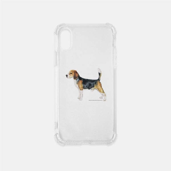 Beagle Clear Phone Case
