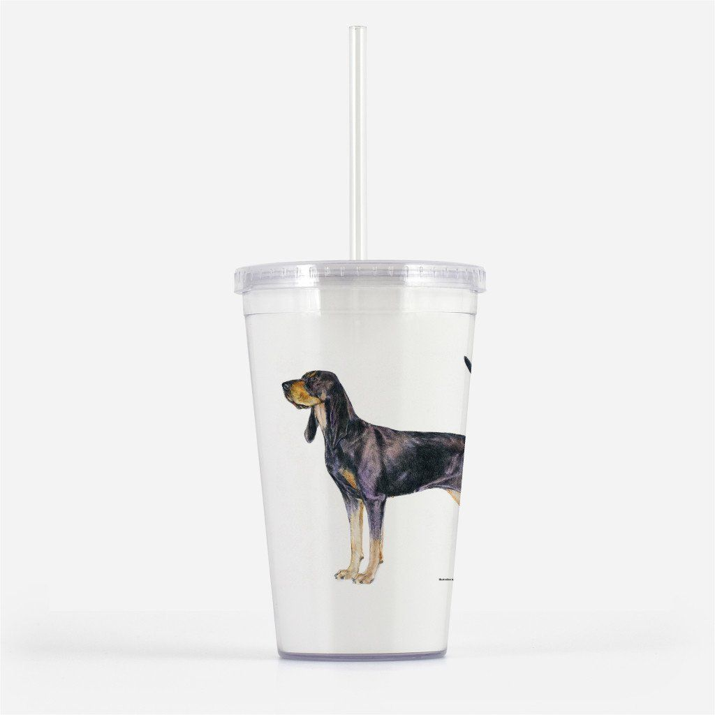 Black And Tan Coonhound Beverage Tumbler Akc Shop