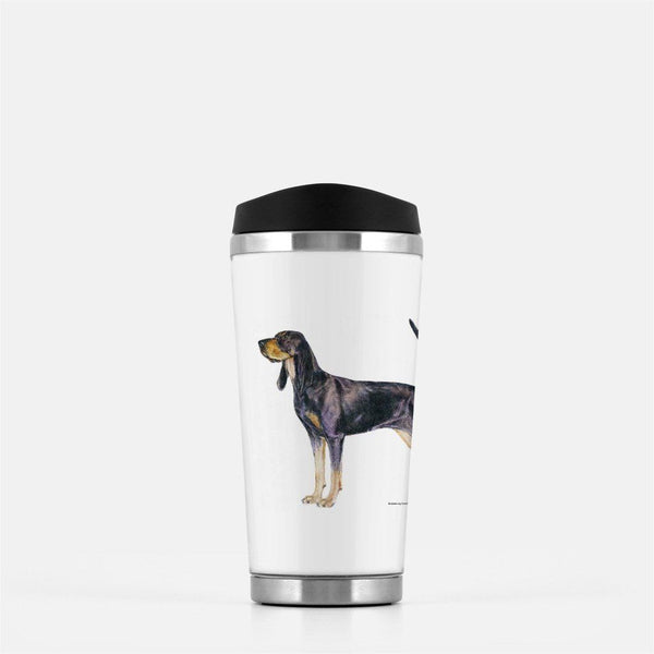 Black and Tan Coonhound Travel Mug