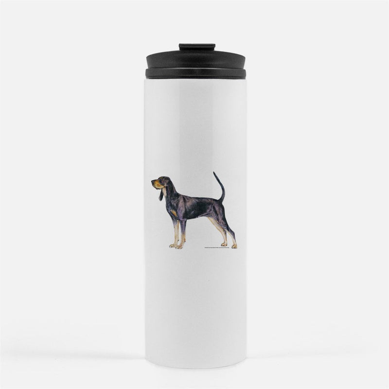 Black and Tan Coonhound Thermal Tumbler