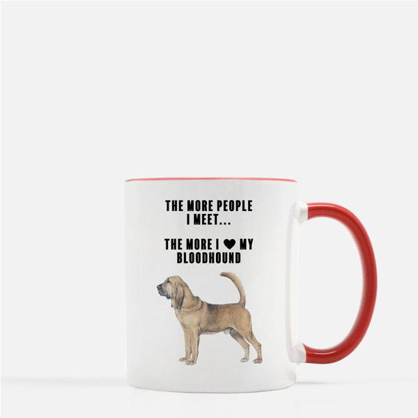 Bloodhound Love Coffee Mug