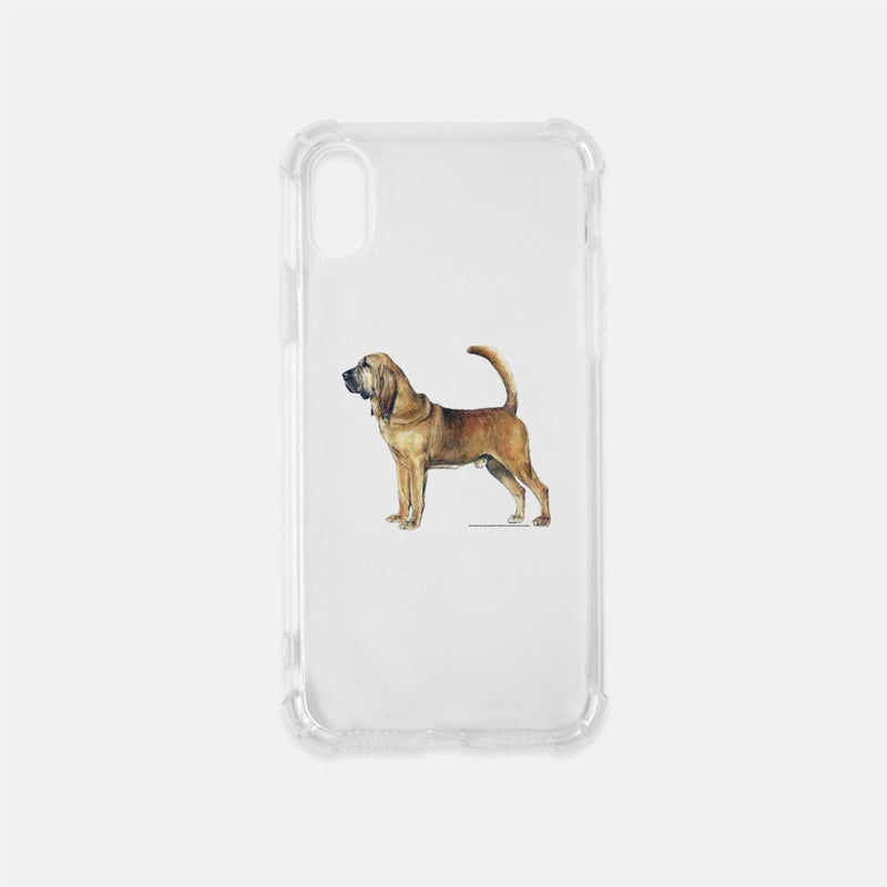 Bloodhound Clear Phone Case