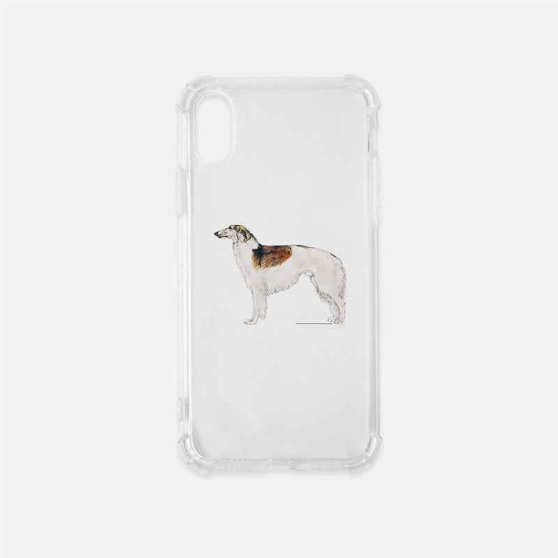 Borzoi Clear Phone Case