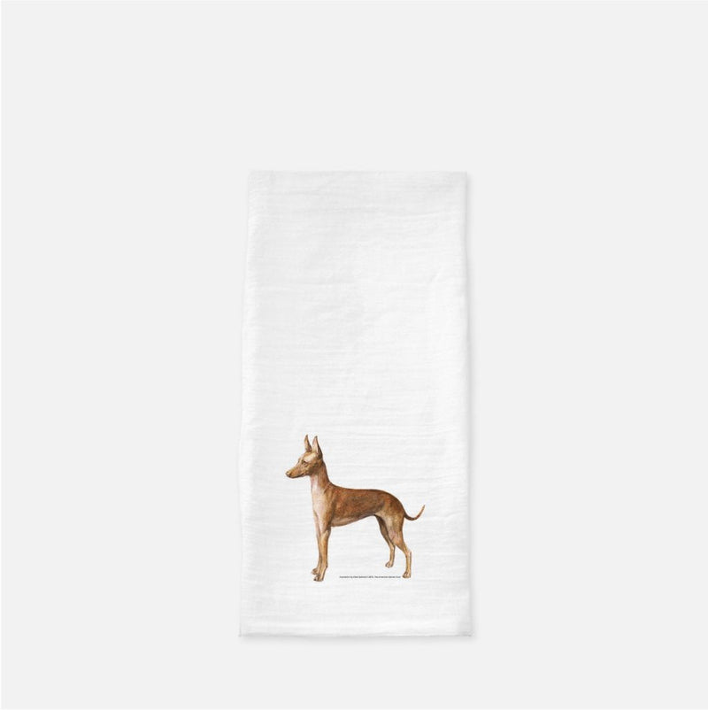 Cirneco dell'Etna Tea Towel