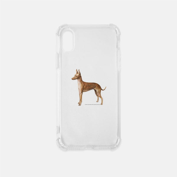 Cirneco D'ell Etna Clear Phone Case