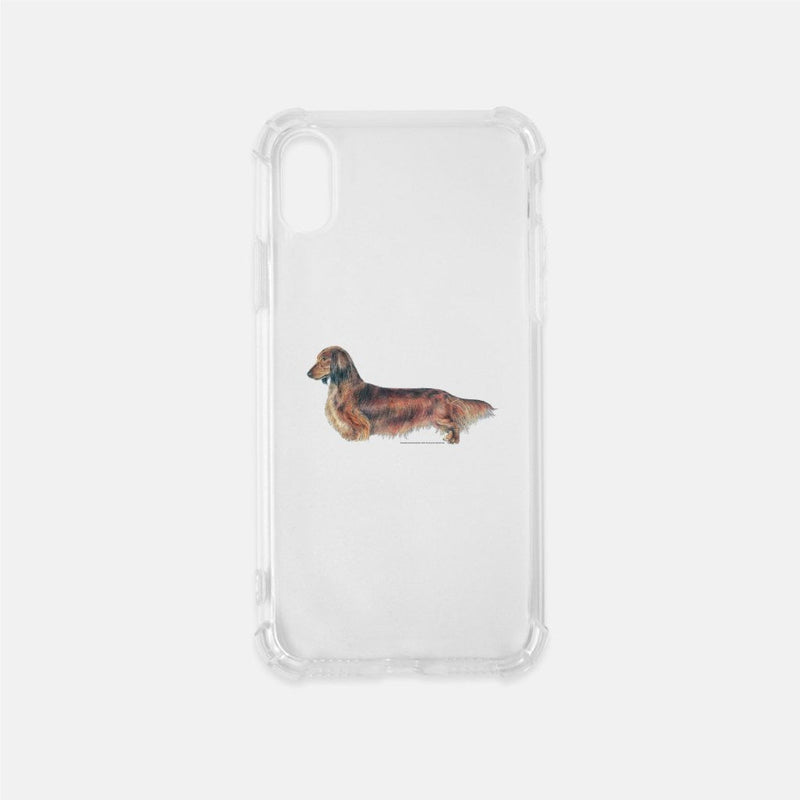 Longhaired Dachshund Phone Case