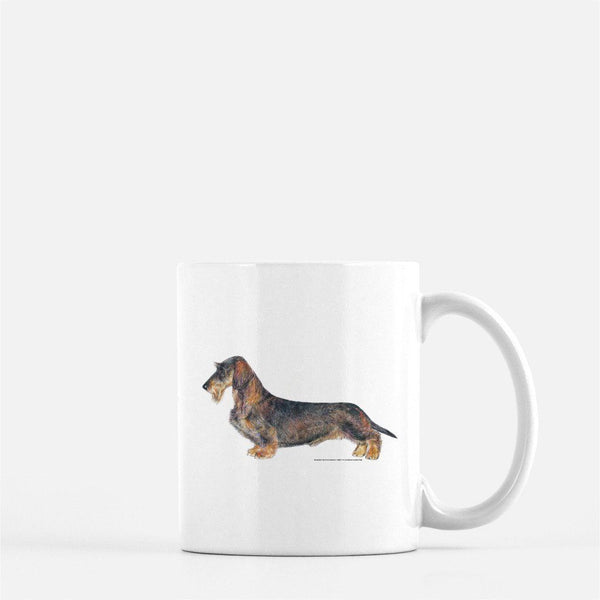 Wirehaired Dachshund Coffee Mug