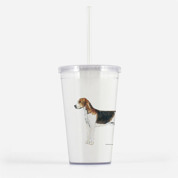 English Foxhound Beverage Tumbler
