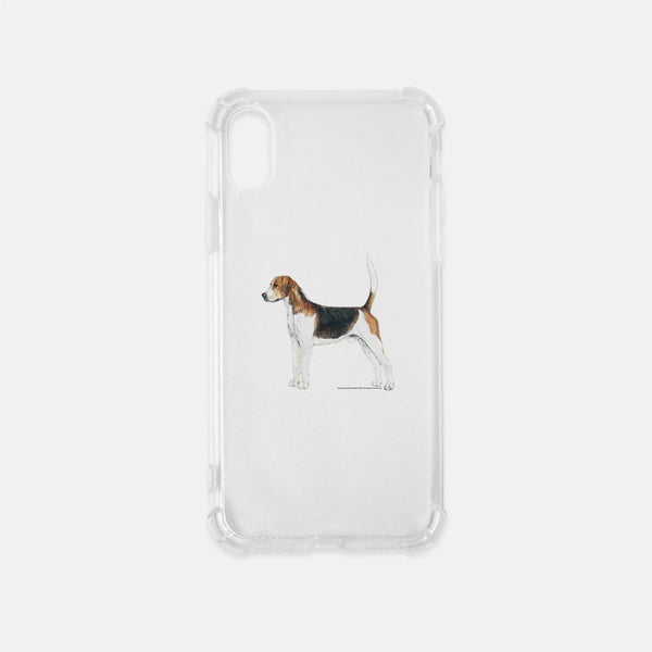 English Foxhound Clear Phone Case