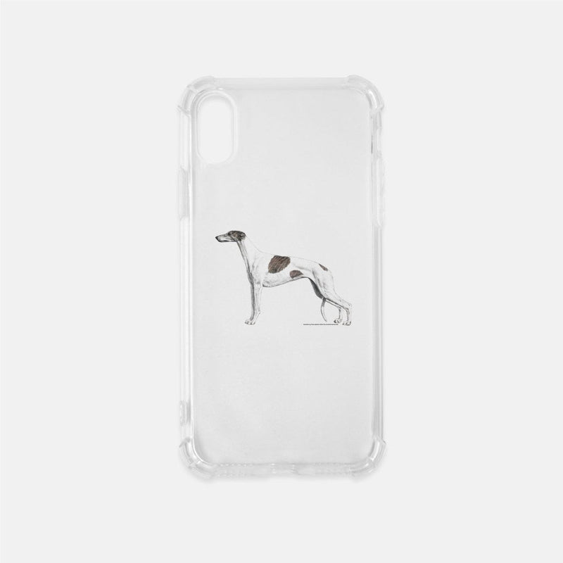 Greyhound Clear Phone Case