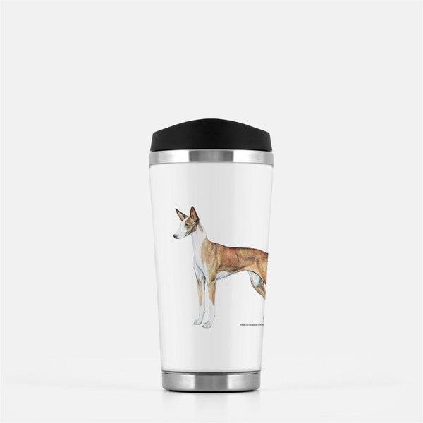 Ibizan Hound Travel Mug