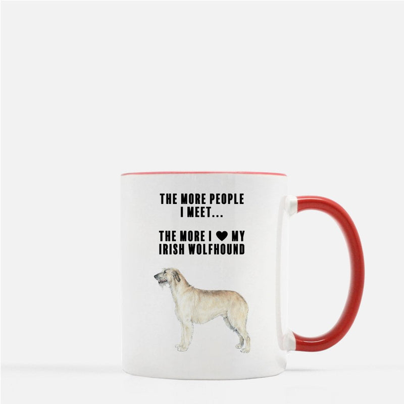 Irish Wolfhound Love Coffee Mug