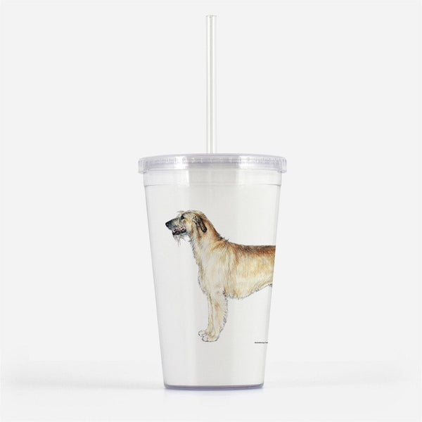 Irish Wolfhound Beverage Tumbler