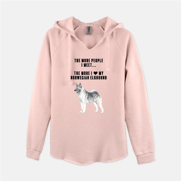Norwegian Elkhound Love Women's Sweatshirt