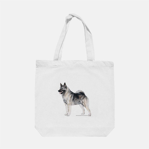 Norwegian Elkhound Tote Bag