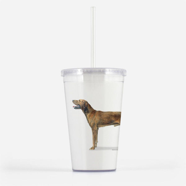 RedBone Coonhound Beverage Tumbler