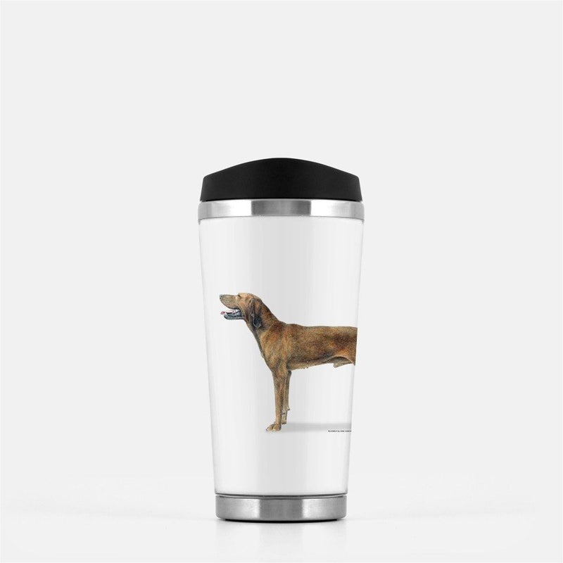 Redbone Coonhound Travel Mug