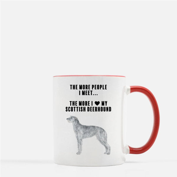 Scottish Deerhound Love Coffee Mug