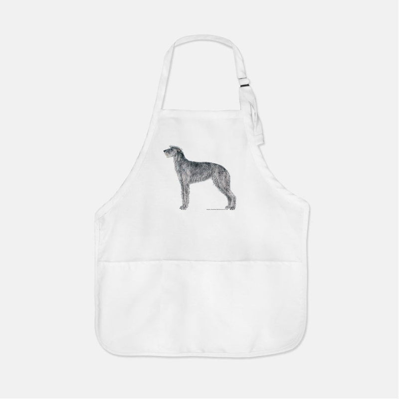 Scottish Deerhound Apron