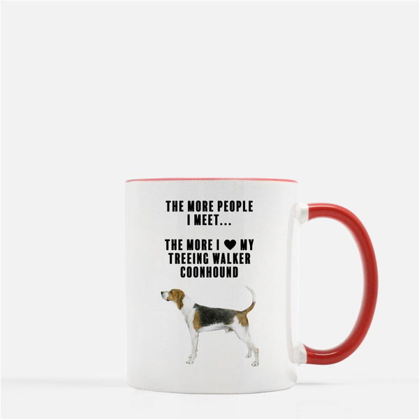 Treeing Walker Coonhound Love Coffee Mug