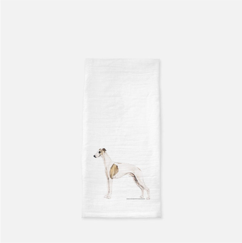 Whippet Tea Towel