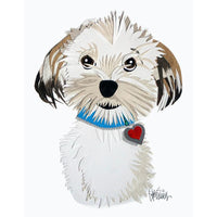 Reed Evins Havanese Dog Collage