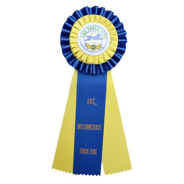 AKC Trick Dog Intermediate Rosette