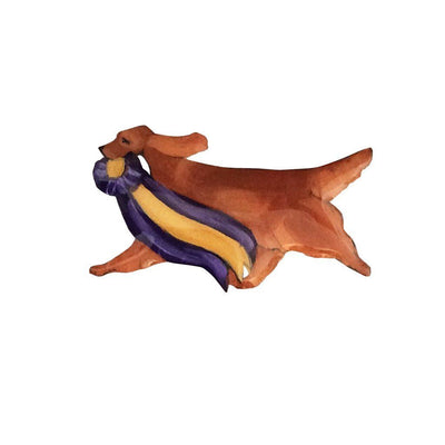 Hand-Painted Irish Setter Pin