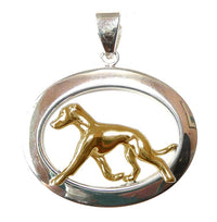 Italian Greyhound Sterling & 14k Gold Jewelry