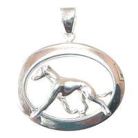 Italian Greyhound Oval Jewelry