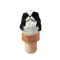 Japanese Chin Head Cork Bottle Stopper