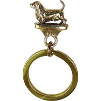 Basset Hound  Key Rings