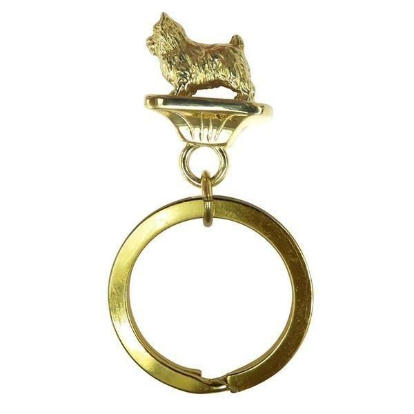 Norwich Terrier Key Ring