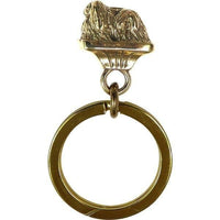 Pekingese Key Ring
