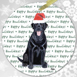 "Labrador Retriever ""Happy Howlidays"" Ornament"